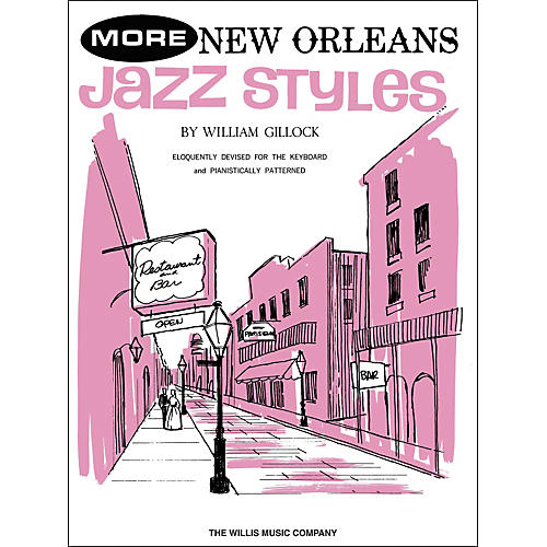 Willis Music More New Orleans Jazz Styles Late Intermediate Piano