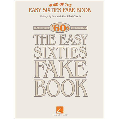 Hal Leonard More Of The Easy 60's Fake Book