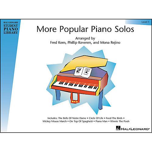 Hal Leonard More Popular Piano Solos Book 1 Hal Leonard Student Piano Library