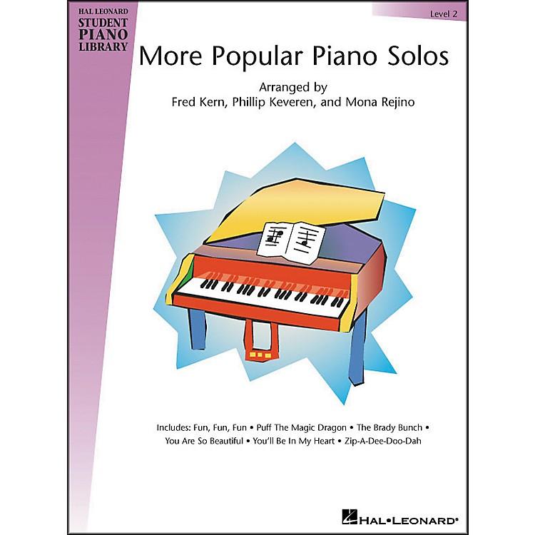 Hal LeonardMore Popular Piano Solos Book 2 Hal Leonard Student Piano Library