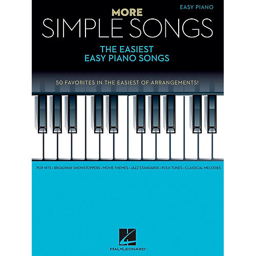 Hal Leonard More Simple Songs - The Easiest Easy Piano Songs-thumbnail