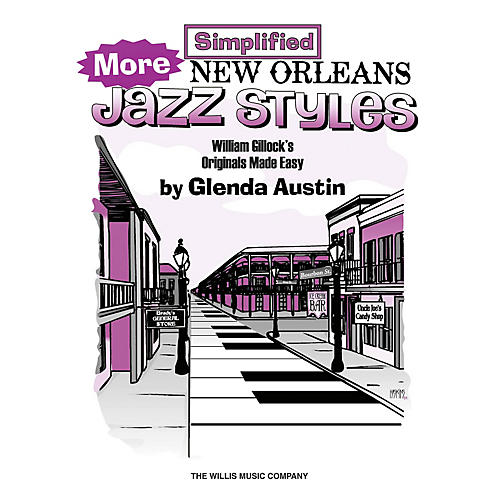 Willis Music More Simplified New Orleans Jazz Styles Willis Series Book by William Gillock (Level Late Elem)-thumbnail