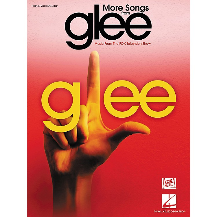 Hal LeonardMore Songs From Glee - Music From The Fox Television Show arranged for piano, vocal, and guitar (P/V/G)