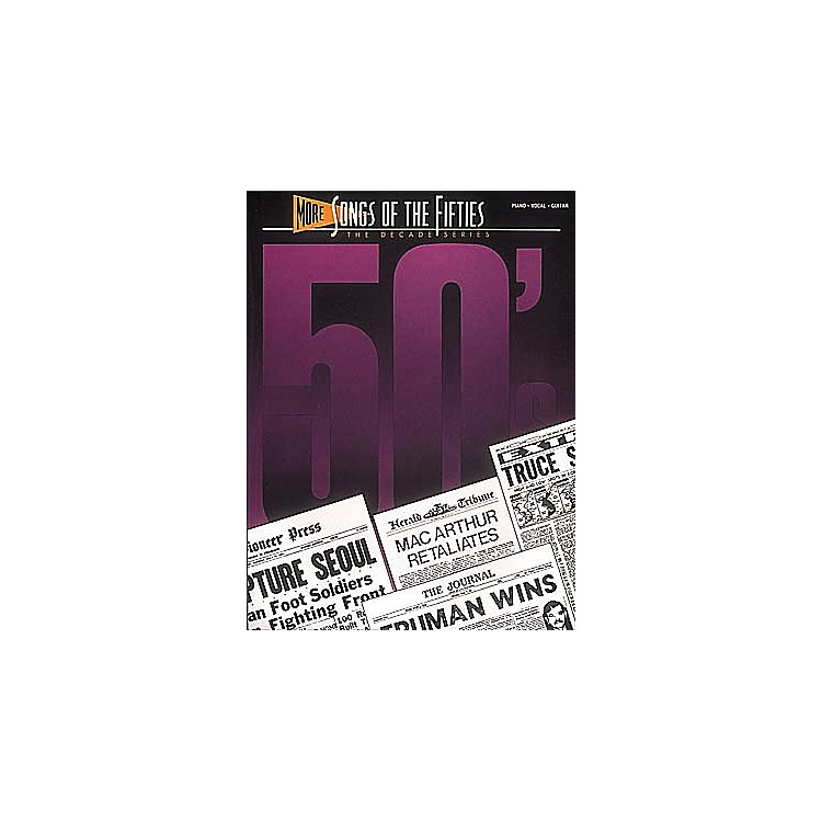Hal Leonard More Songs Of The 50's Piano, Vocal,