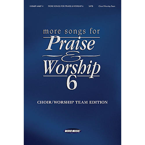 Word Music More Songs for Praise & Worship - Volume 6 for Piano/Vocal/Guitar-thumbnail