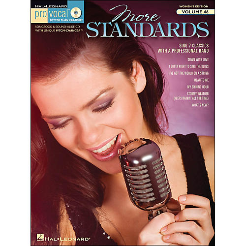 Hal Leonard More Standards - Pro Vocal Songbook & CD for Female Singers Volume 46