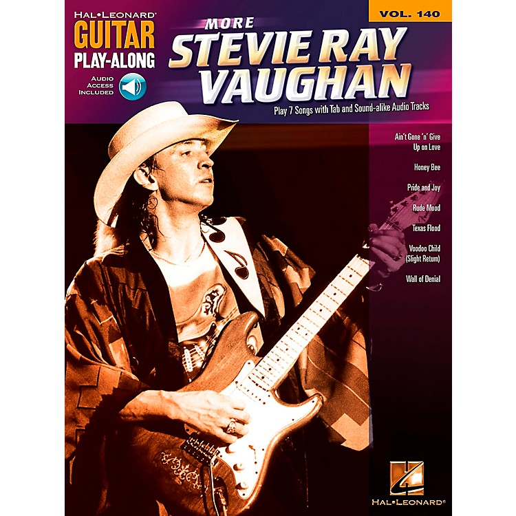 Hal LeonardMore Stevie Ray Vaughan - Guitar Play-Along Volume 140 Book/CD