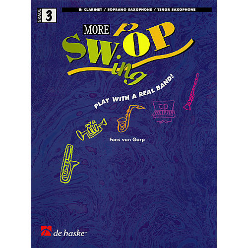 De Haske Music More Swing Pop (Play With a Real Band!) De Haske Play-Along Book Series-thumbnail