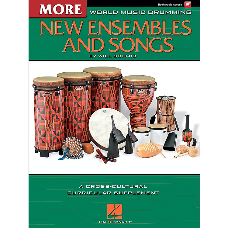 Hal LeonardMore World Music Drumming: More New Ensembles and Songs