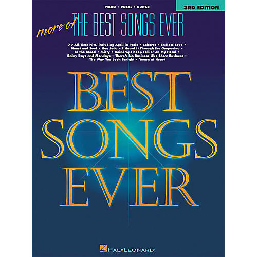 Hal Leonard More of the Best Songs Ever - 2nd Edition Songbook