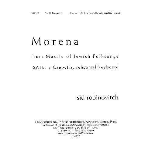 Transcontinental Music Morena SATB composed by Sid Robinovitch-thumbnail