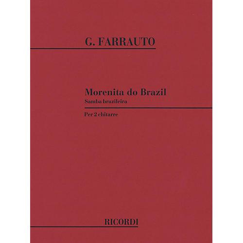Ricordi Morenita do Brazil (2 guitars) Guitar Duet Series Composed by Giuseppe Farrauto-thumbnail