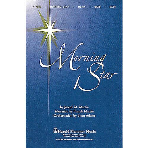 Shawnee Press Morning Star Score & Parts Arranged by Brant Adams