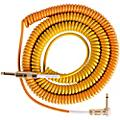 Lava Morph Coil Instrument Cable Straight to Right Angle Oranges, Reds, Yellow, Brown 25 ft.Thumbnail