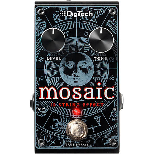 digitech mosaic 12 string guitar effects pedal musician 39 s friend. Black Bedroom Furniture Sets. Home Design Ideas