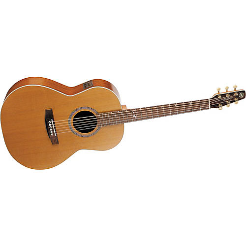 Seagull Mosaic Folk i-Beam Acoustic-Electric Guitar with Deluxe Case-thumbnail