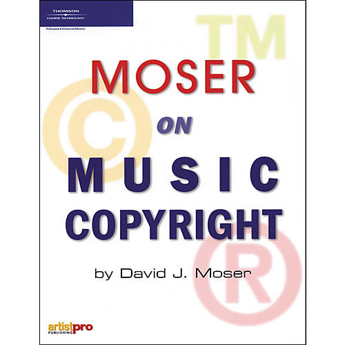 Course Technology PTR Moser on Music Copyright (Book)-thumbnail
