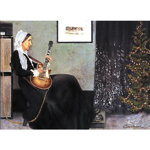 Art Strings Mother of Rock Christmas Greeting Card 10-Pack