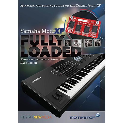 Keyfax Motif XF Fully Loaded DVD Series DVD Written by Dave Polich