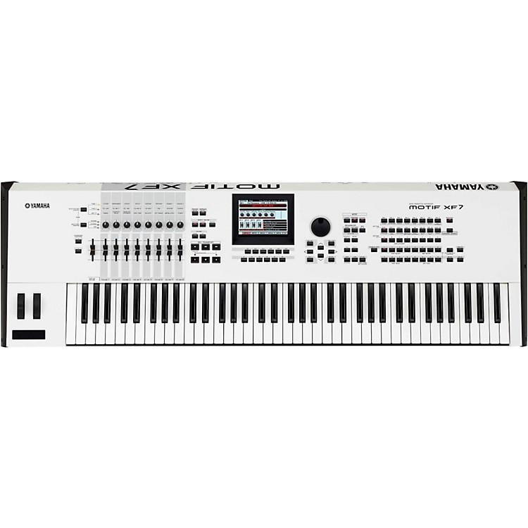 YamahaMotif XF7 White 76 Key Workstation