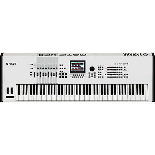 Yamaha Motif XF8 White 88-Key Workstation
