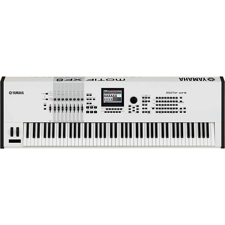 Yamaha Motif XF8 White 88 Key Workstation