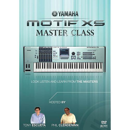 Keyfax Motif XS MasterClass DVD Series DVD Written by Various-thumbnail