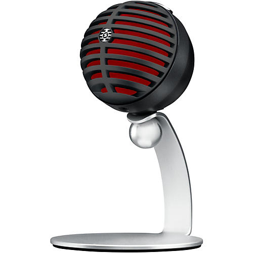 Shure Motiv MV5 Digital Condenser Microphone with USB and Lightning Cables Included-thumbnail