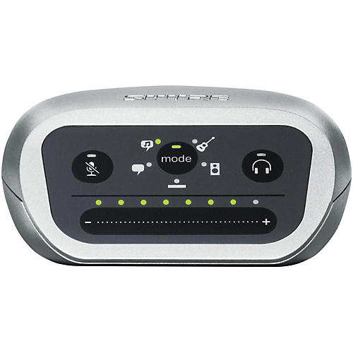 Shure Motiv MVi Digital Audio Interface with USB and Lightning Cables Included-thumbnail