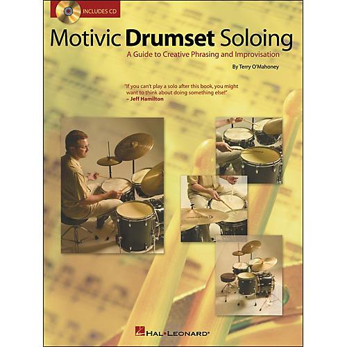 Hal Leonard Motivic Drumset Soloing Book/CD
