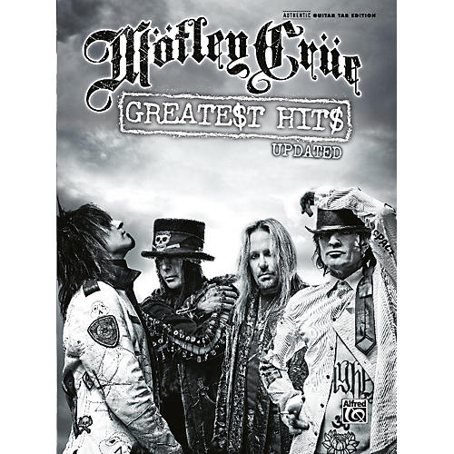 Alfred Motley Crue - Greatest Hits Updated (Guitar Tab Book)
