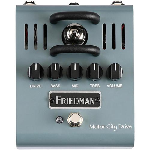 Friedman Motor City Drive 12AX7 Tube Overdrive Pedal-thumbnail