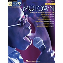 Hal Leonard Motown - Pro Vocal Songbook Volume 38 Men's Edition Book/CD