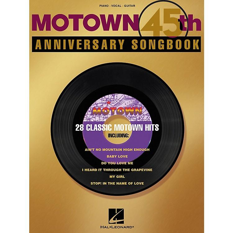 Hal LeonardMotown 45th Anniversary Piano/Vocal/Guitar Songbook
