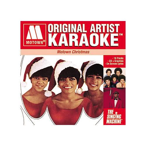 The Singing Machine Motown Christmas Volume 1 Karaoke CD+G