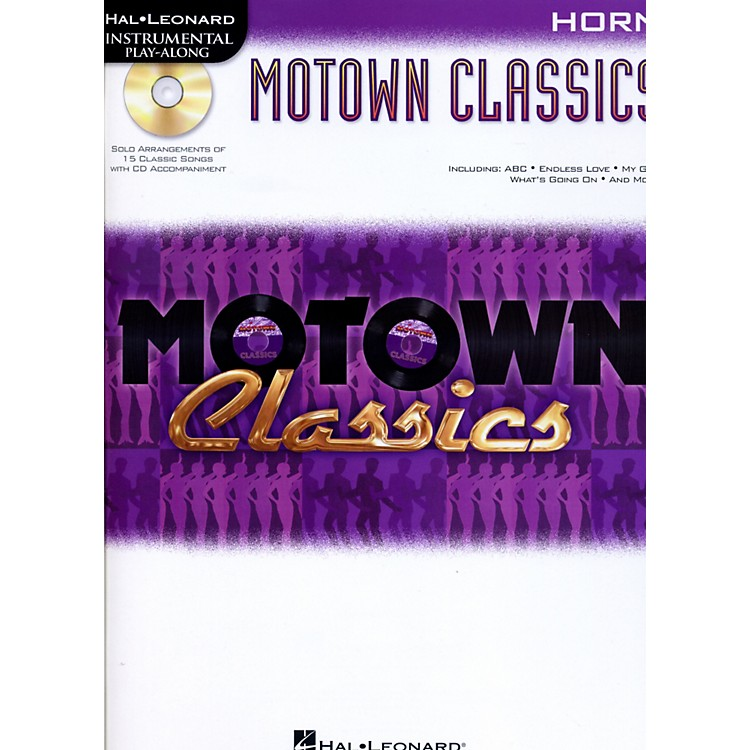 Hal Leonard Motown Classics - Instrumental Play-Along Book/CD Horn