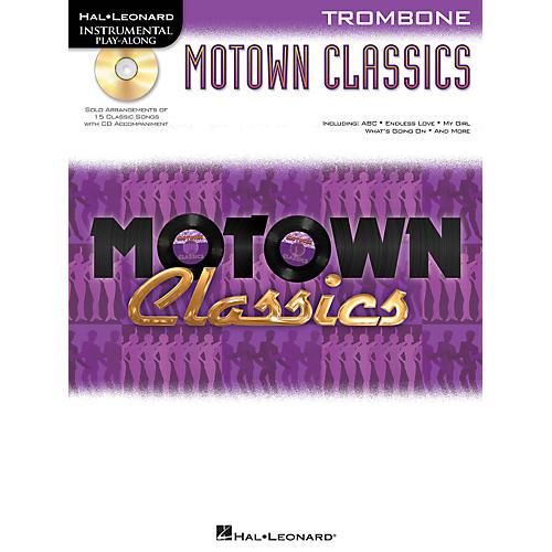 Hal Leonard Motown Classics - Instrumental Play-Along Book/CD Trombone