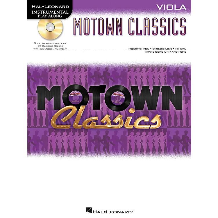 Hal LeonardMotown Classics - Instrumental Play-Along Book/CDViola