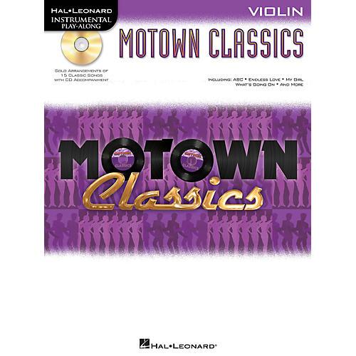 Hal Leonard Motown Classics - Instrumental Play-Along Book/CD