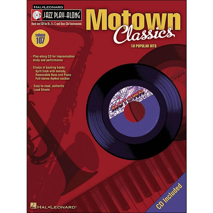 Hal LeonardMotown Classics - Jazz Play-Along Volume 107 (CD/Pkg)