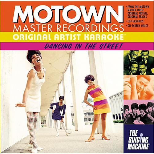 The Singing Machine Motown Dancing In The Streets Karaoke CD+G-thumbnail