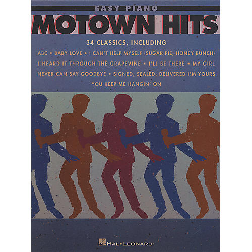 Hal Leonard Motown Hits (34 Classics) For Easy Piano