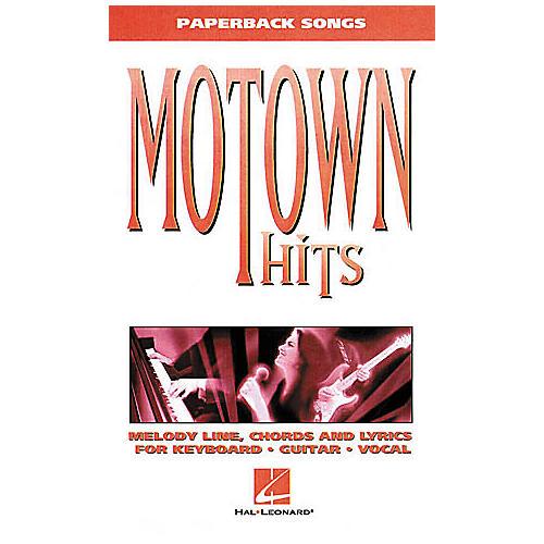 Hal Leonard Motown Hits Book