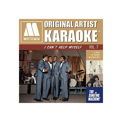The Singing Machine Motown I Can't Help Myself Karaoke CD+G