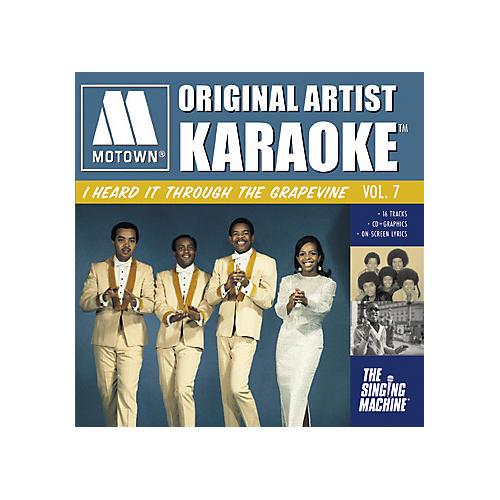 The Singing Machine Motown I Heard It Through The Grapevine Karaoke CD+G