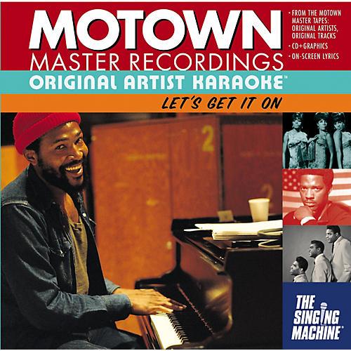 The Singing Machine Motown Let's Get It On Karaoke CD+G