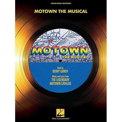 Hal Leonard Motown: The Musical Piano/Vocal Selections-thumbnail