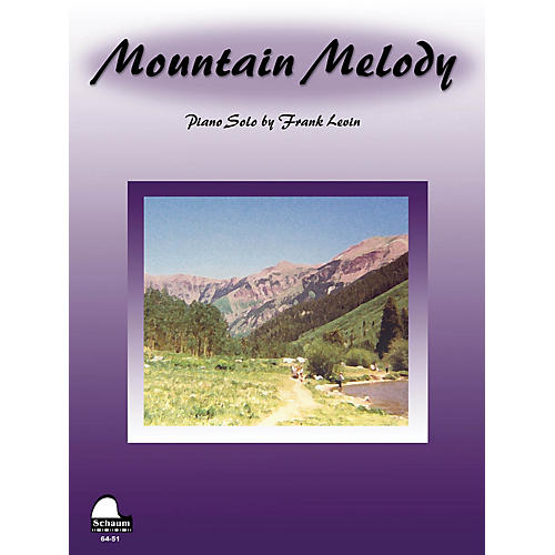 SCHAUM Mountain Melody Educational Piano Series Softcover-thumbnail