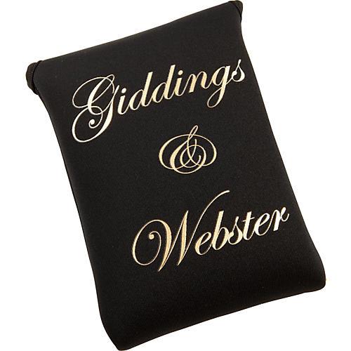 Giddings & Webster Mouthpiece Pouch Black Neoprene