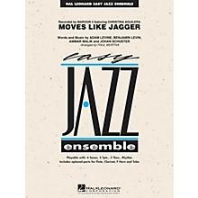 Hal Leonard Moves Like Jagger Jazz Band Level 2 by Maroon 5 Arranged by Paul Murtha